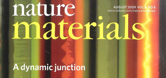 Nature Materials masthead