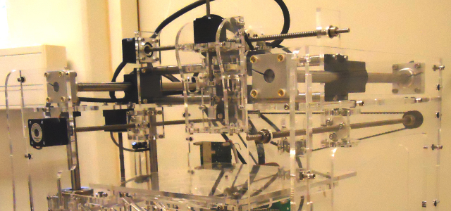 3D printer (fabber) used for microfluidic devices