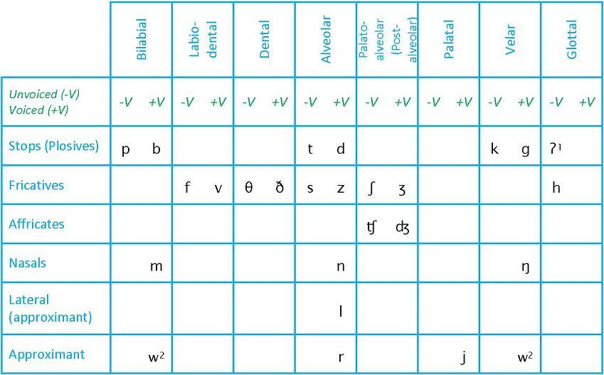Types Of Phonetics