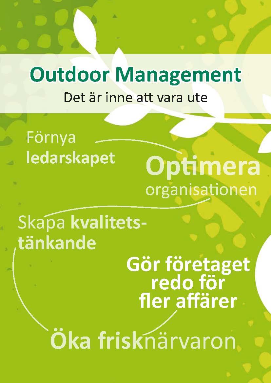 Outdoor management framsida
