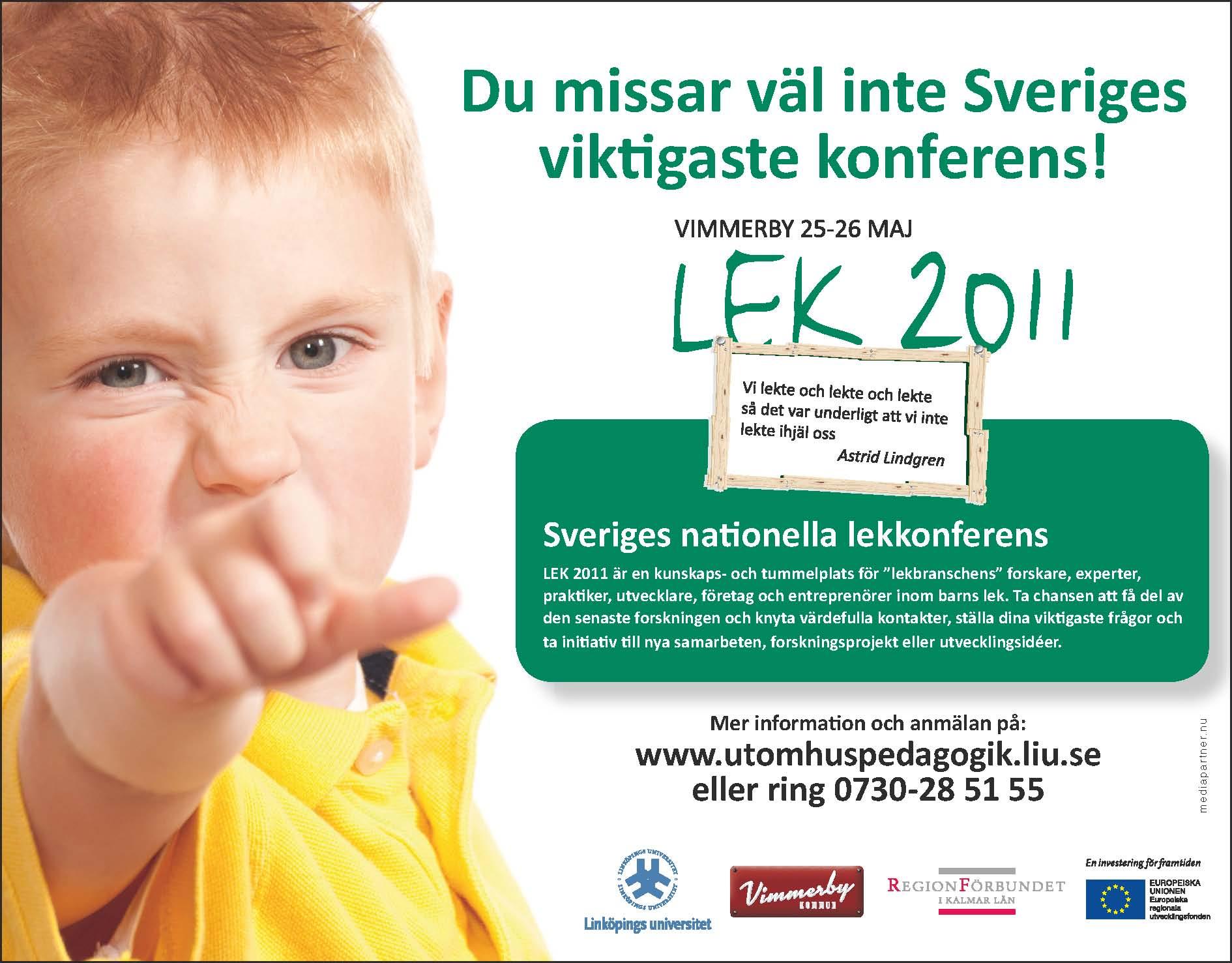 Annons LEK2011