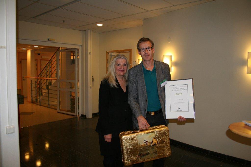 JF Prize 2012 Lars Hultman