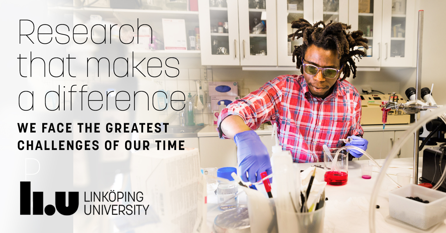 Research that makes a difference. We face the greatest challenges of our time.